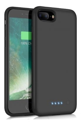 Funda Estuche Con Bateria Powerbank iPhone 7 8 Plus 4000mah