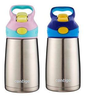 Botella Térmica Contigo Kids 296ml Acero Inoxidable Febo