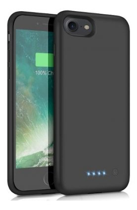 Funda Estuche Con Bateria Powerbank iPhone 7 Y 8 3000mah