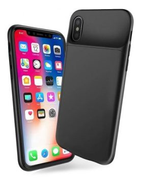 Funda Estuche Con Bateria Powerbank iPhone X Xs 8000mah