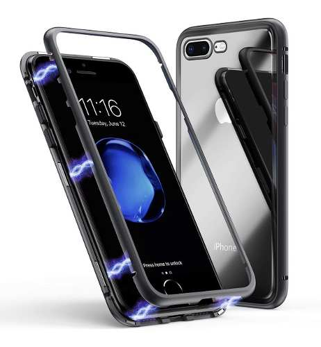 Case Carcasa Protector Full 360 Magnetico iPhone 7 Y 8 Febo