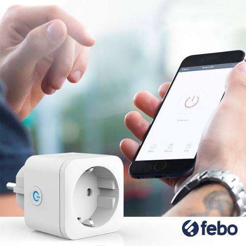 Enchufe Inteligente Smart Plug Wifi Febo