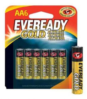 Pilas Alcalinas Eveready Gold Aa X 6 Super Oferta!! Febo