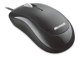 Mouse Optico Microsoft Basico Cableado Pc Notebook Y +
