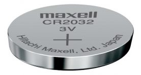Pila Bateria Cr2032 Maxell Pc Moneda Cr 2032 Reloj 3v Febo