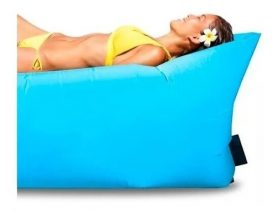 Lazy Bag Sillon De Aire Inflable Ideal Playa Y Descanso Febo