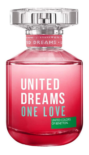 Perfume Mujer Benetton United Dreams One Love 80ml 2018 Febo