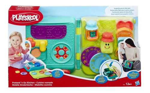 Cocina Divertida Hasbro Playskool Friends En Maletin Febo