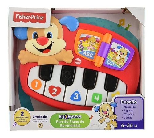 Piano Perrito Sonidos Divertidos Rie Y Aprende Fisher Price