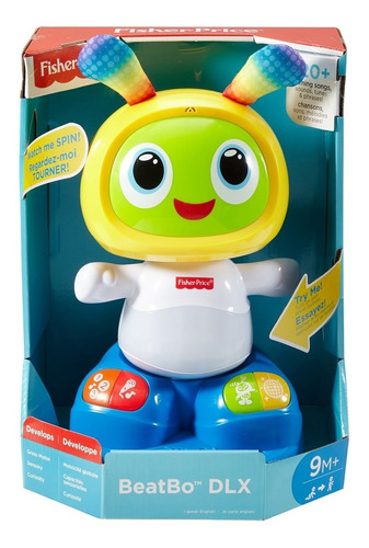 Bi Bot 360° Fisher Price Color Amarillo/verde Febo