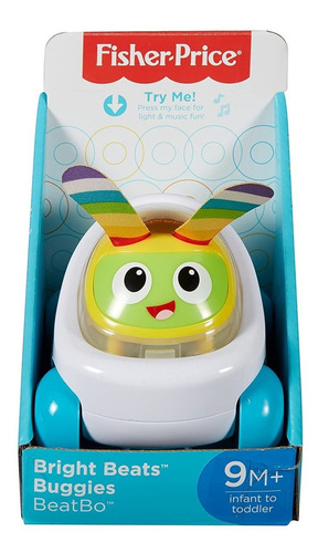 Mini Buggie Fisher Price Con Sonidos Febo